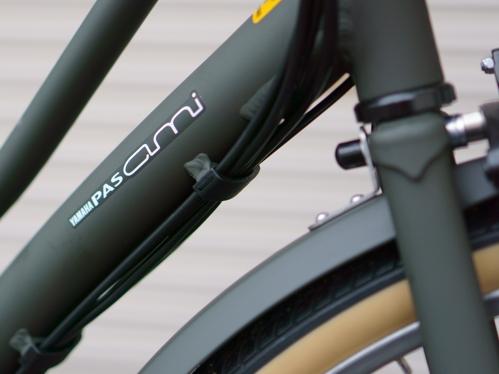 ヤマハの電動アシスト自転車 パス アミ のレビュー