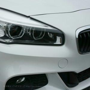BMW 218i アクティブツアラー M-Sport 代車で試乗