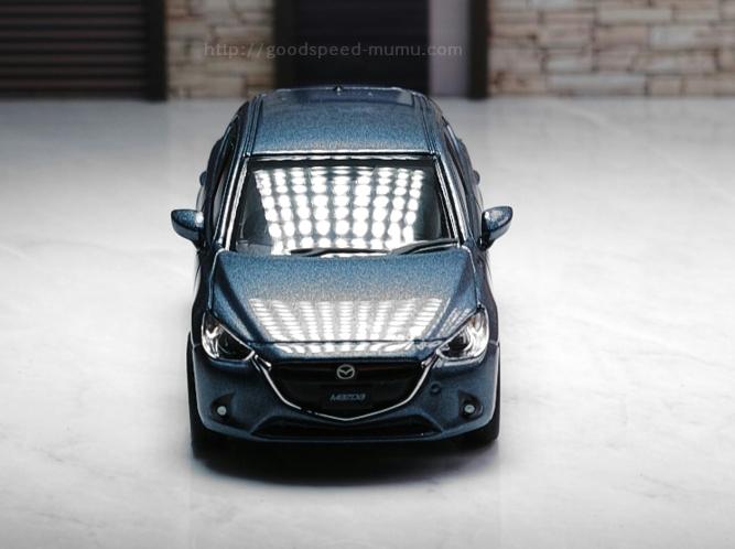 1/64 デミオ ミニカー (Toy car:Mazda2)