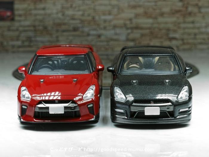 TOMYTEC NISSAN R35 GT-R LV-N116&LV-N148