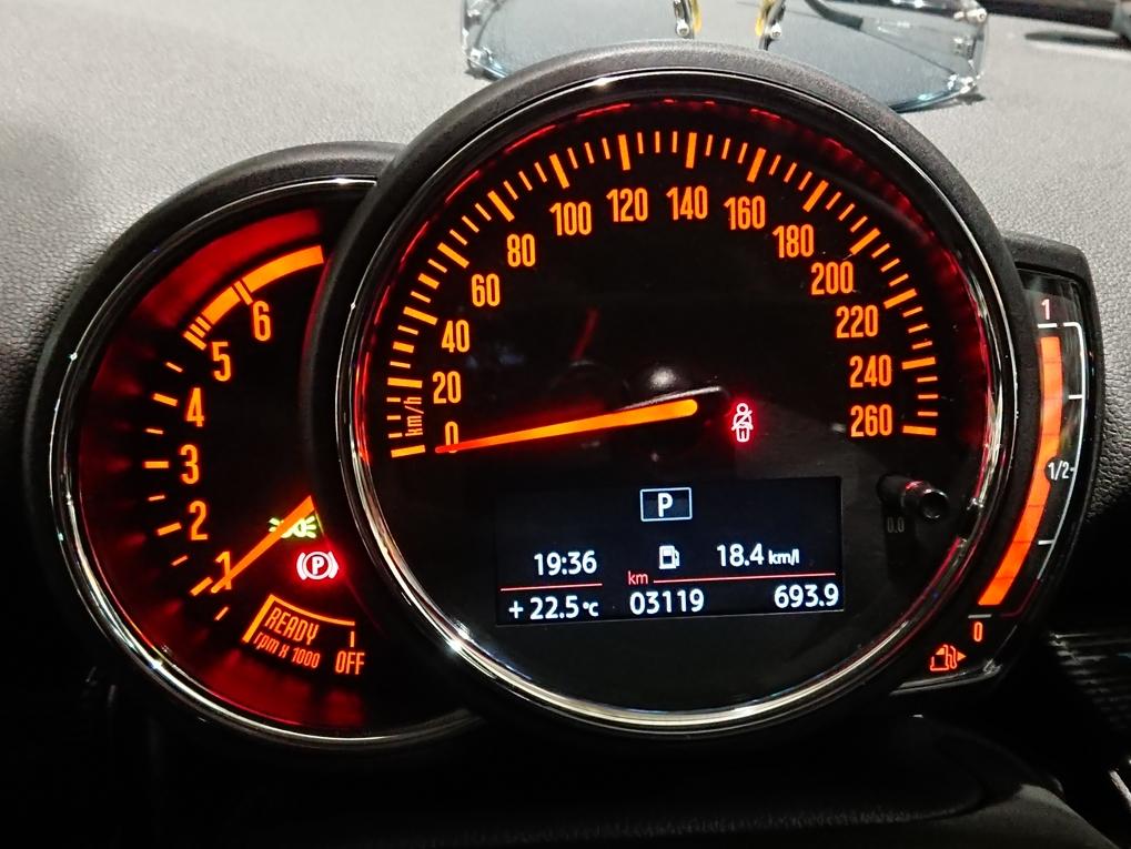 F54クラブマン 燃費報告4回目 少し高速道路を走った結果