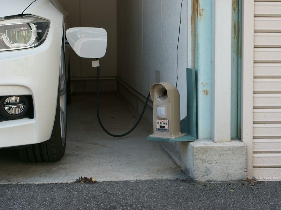 超音波で野良猫対策 愛車や庭を守るガーデンバリア レビュー