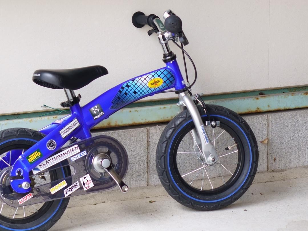 息子が自転車に乗れるようになった!