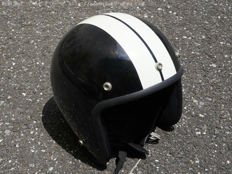汚いヘルメットの内装を洗浄!