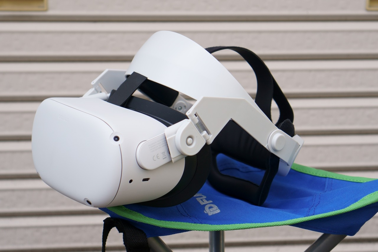 Oculus Quest2が届いた 装着感を社外ストラップと合わせてレビュー